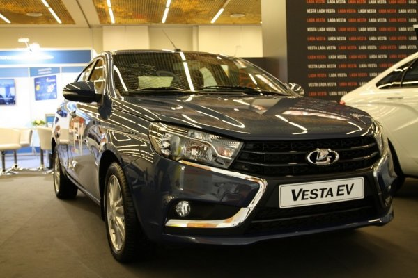 Технологичный таз радует глаз: LADA Vesta могла бы стать беспилотным электрокаром